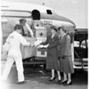 Whole blood off to Korea, 1951