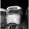 Street car strike, 1955