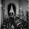 Herbert Legg funeral, 1958.