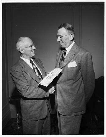 200,000 stockholder in Bank of America, 1952