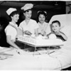 Cake at Orthopedic Hospital, 1958
