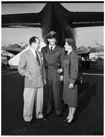 Women's Aeronautical Association... Los Angeles International Airport, 1951
