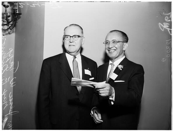 Bar Association luncheon, 1958