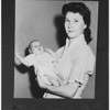 Marine's wife and child, 1951