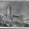 A drawing of the Art Institute in Pasadena, 1927
