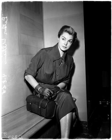 Esther Williams divorce, 1958