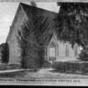 A drawing of Pasadena's original Presbyterian Church, erected in 1875, ca.1880-1920