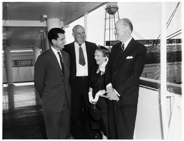Sir Alexander Granthan (San Pedro), 1958