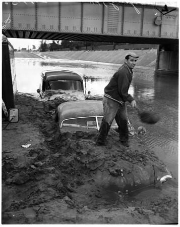 Flood in Puente, 1958
