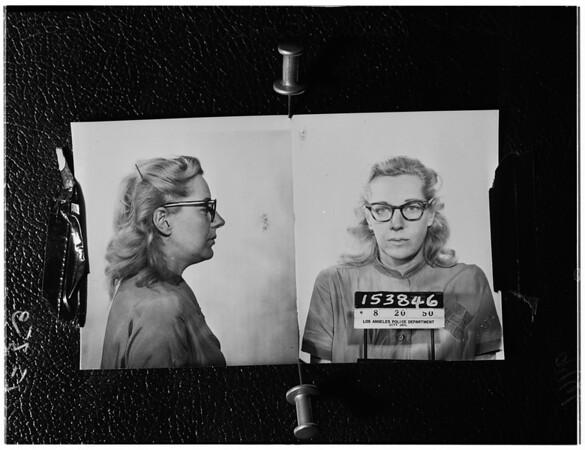 Pauline Evans (Copy picture), 1952