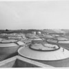 Digester tanks at Hyperion sewage treatment plant, Los Angeles, 1953