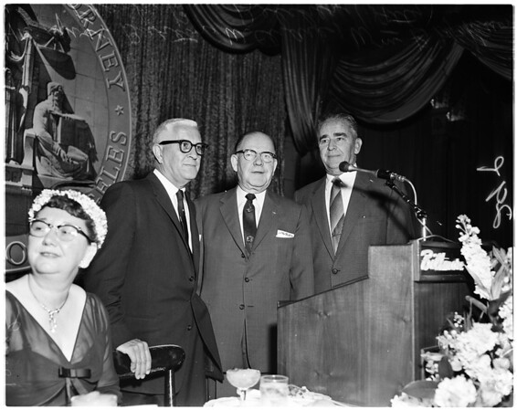 McKesson dinner, 1958