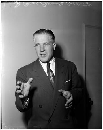 American Motors president (Ambassador Hotel), 1958