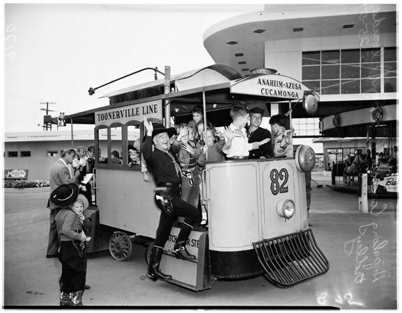 """""""Hoppyland"""" opening, 1951"""