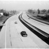 Opening of new freeway link, 1958