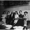 Girls Week (day at supervisors office),1958