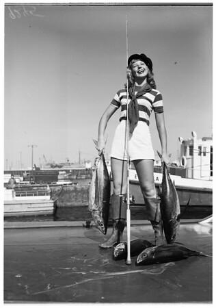 Catches albacore, 1951