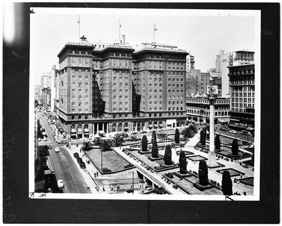 Biltmore Hotel (copy negative), 1956