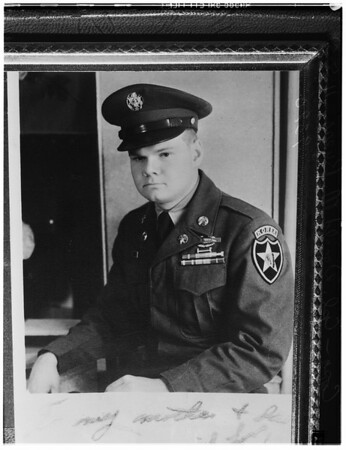 Donald M. Byers, Corporal, 1951