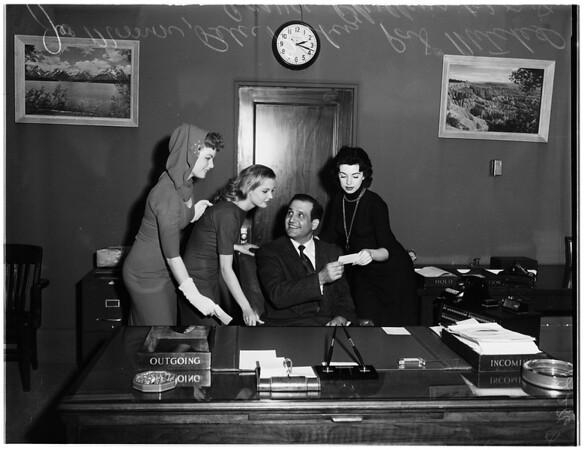 Press photographers contest, 1958