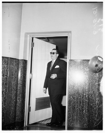 Cohen tax hearing, 1951