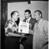 Sportsmen's show -- Merit presentation, 1958