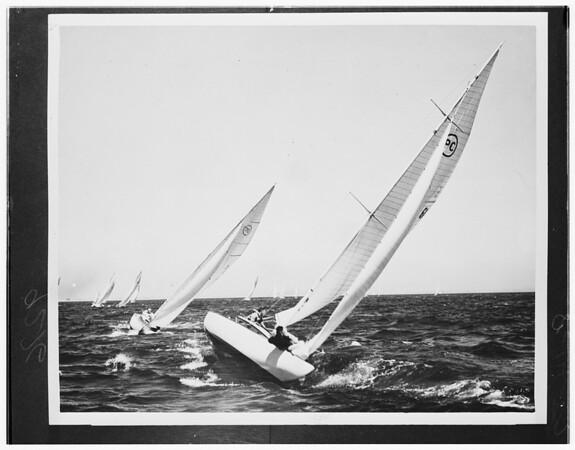 "Yacht ""Happy Day"", 1950"