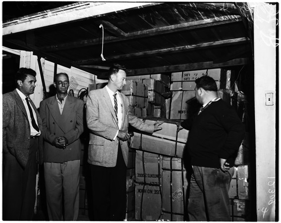 Hi-jack loot (21219 S. Figueroa), 1958