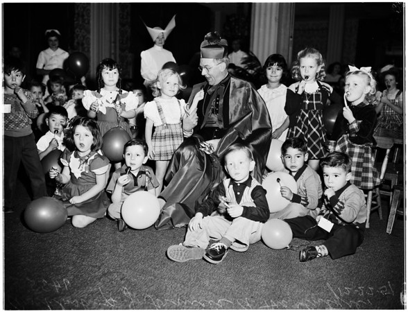 Christmas ...Archbishop's Party, 1951