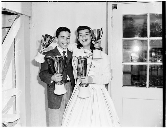 Dental week King and Queen, 1958.