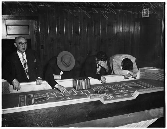 Los Feliz gambling raid, 1951