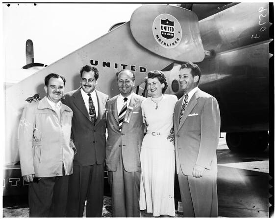 Philco Dealers Contest Winners, 1952