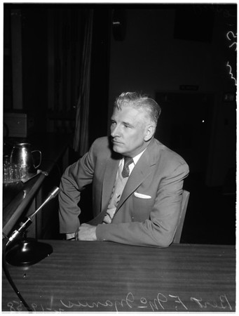 Collection Agencies hearing, 1958