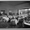 Interior of the Garden Room in the Town House hotel, Los Angeles