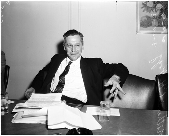 Interview, 1958.
