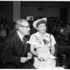 Mary Lavina Spreckels in court (Van Nuys), 1952
