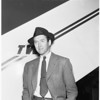 Jimmy Stewart leaves for picture, 1951