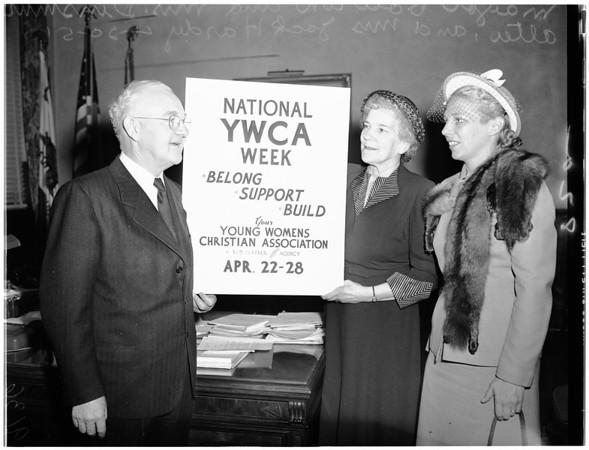 YWCA week, 1951