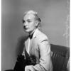Maureen Syde -- Alimony, 1952