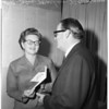 President of League of Women Voters, 1958
