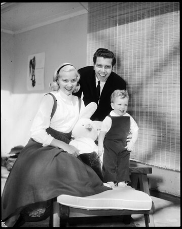 Eva Marie Saint and Family, 1957