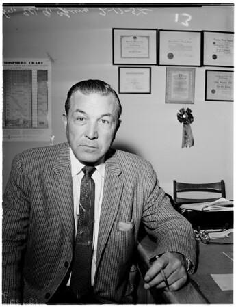 New Zoo Director Supervisor, 1958