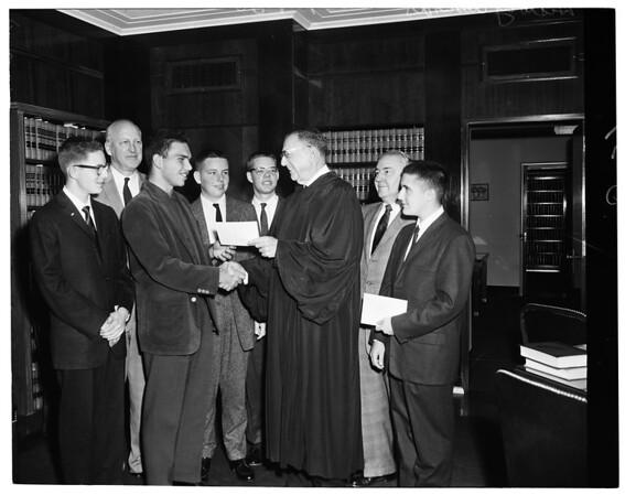 Examiner History Awards, 1960