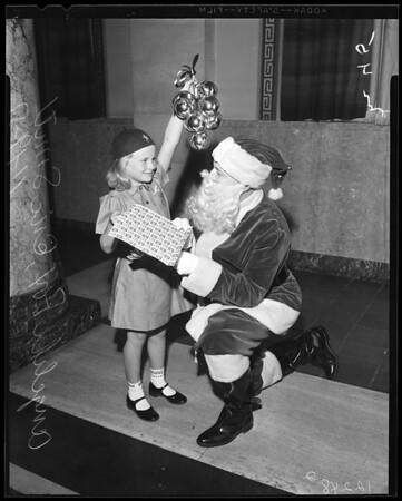 Christmas seals, 1957