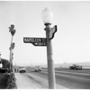 Street signs around Los Angeles, 1959