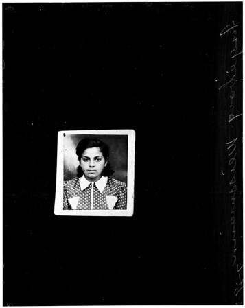 Missing girl, 1958