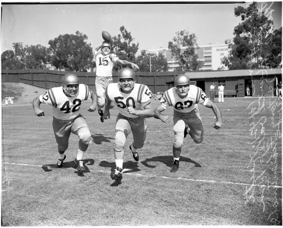 Football -- UCLA Publicity, 1959