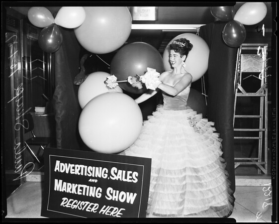 Ad show, 1957
