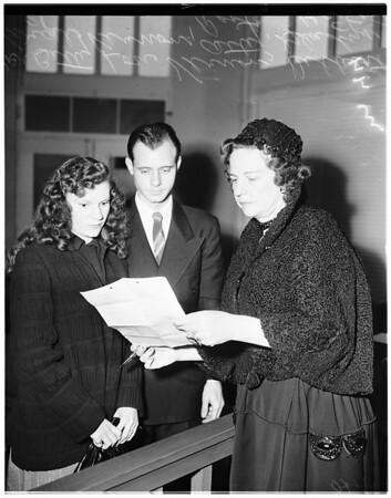 Child beating case (Centinella Justice Court), 1951