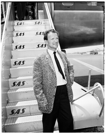 Ballet master arrival, 1959